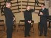 Dyrektor Cezary Witlewski, Piotr Szyniszewski, Starosta Słupecki Mariusz Roga