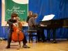 Nikodem Kluczyński - wiolonczela, mgr Sebastian Badziągowski - fortepian