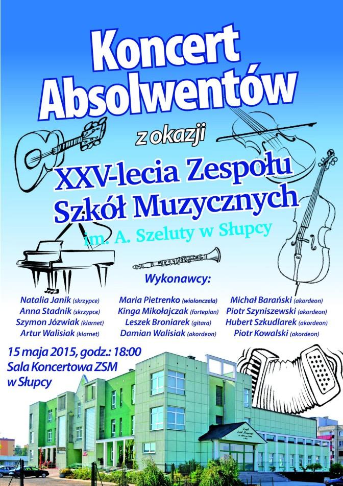 koncert absolwentów 25-lecie