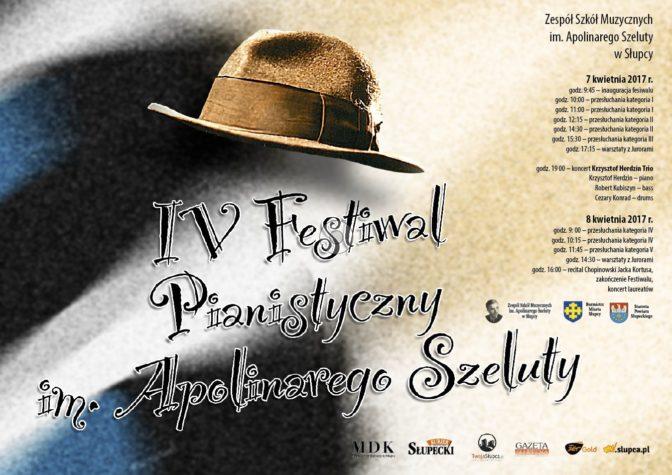 Plakat Festiwalu Pianistycznego